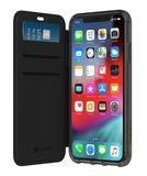 Griffin Zwart Survivor Clear Wallet iPhone X / XS (2018)_