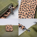 Mobilize 2in1 Gelly Wallet Zipper Case Apple iPhone 11 Olive/Leopard