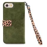 Mobilize 2in1 Gelly Wallet Zipper Case Apple iPhone 6/6S/7/8 Olive/Leopard