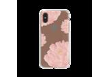 FLAVR iPlate Pink Peonies case voor iPhone X/Xs (kleurrijk)_