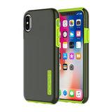 Incipio DualPro Case voor Apple iPhone X/Xs (smoke/volt)