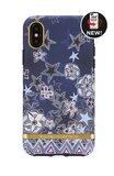 Richmond & Finch Super Star - Gold Details iPhone X/Xs (blauw)_