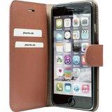 JT Berlin LeatherBook Style voor de iPhone 8 Plus/ 7 Plus (Cognac)_
