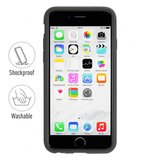 Artwizz SeeJacket Silicone Case Black voor iPhone 6 Plus_