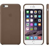 Apple iPhone 6 Plus Leather Case Olive Brown_