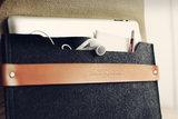 Mujjo Envelope Sleeve voor iPad - Tan_