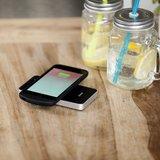 Draadloze oplader met draadloze oplaadcase van Zens Qi voor Apple iPhone 7 zwart (compatibele met 6/6S)_