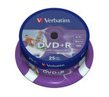 Verbatim DVD+R AZO 4.7GB 16X Spindle (25 Pack)_