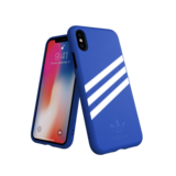 Adidas Moulded Case Suéde Blauw voor iPhone X/Xs_