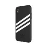 Adidas Moulded Case Suéde Zwart/Wit voor iPhone X/Xs_