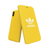 Adidas Booklet Case voor de iPhone X / Xs (geel) _