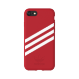 Adidas OR Moulded case Suede voor iPhone 6 / 6s / 7 /8 (rood)_