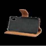 Bugatti Zurigo Wallet Cognac voor iPhone X/Xs_