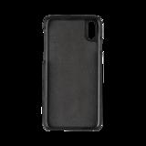 Bugatti Londra Leer Zwart voor iPhone X/Xs_
