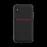 Bugatti Snap Case Flaxcity Zwart voor iPhone X/Xs_
