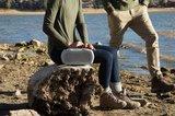 BRAVEN Ready Prime Outdoor Series Bluetooth Speaker   4400mAh   IP68   grey/orange_