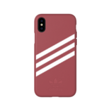 Adidas Moulded Case PU Suéde Roze voor iPhone X/Xs_