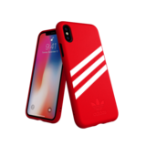Adidas Moulded Case Suéde Rood voor iPhone Xr_