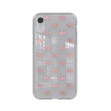 Adidas OR Snap case ENTRY (roze goud) voor de iPhone XR_