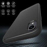 JT Berlin BackCase Pankow Soft voor iPhone Xr (zwart)_
