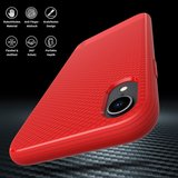JT Berlin BackCase Pankow Soft voor iPhone Xr (rood)_