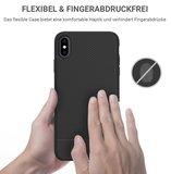 JT Berlin BackCase Pankow Soft voor iPhone X / XS (zwart)_