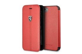 Ferrari Bookcase voor iPhone 7-8 Rood