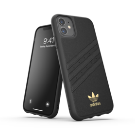 adidas OR Moulded Case PU Premium FW19 for iPhone 11 black