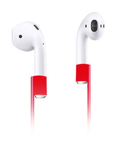 Xccess Anti Lost Strap for Apple Airpods rood