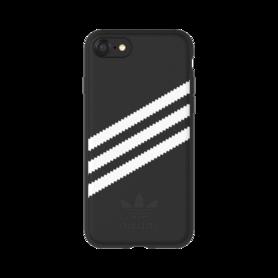 Adidas OR Moulded case Suede voor iPhone 6 / 6s / 7 /8 (zwart)
