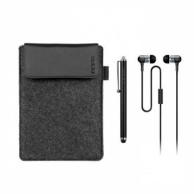 Incipio 3-in-1 Essential Kit Black iPad mini Sleeve, Stylus en Incipio F08 EarBuds Koptelefoon