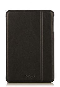 Knomo Folio Case Leather Black voor iPad mini 1 t/m 3 Retina