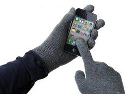 Avanca Touchscreen Handschoenen Dark Grey