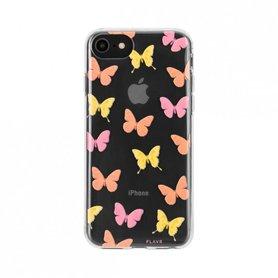 FLAVR iPlate Butterflies voor iPhone 6/6S/7/8 colourful