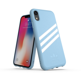 Adidas Moulded Case PU Suéde Blauw voor iPhone 6/6s/7/8
