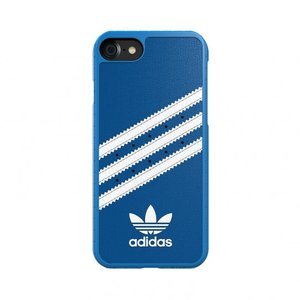 Adidas OR Moulded case Suede voor iPhone 6 / 6s / 7 /8 (blauw)