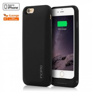 Incipio offGRID Express 3000 mAh Batterij Case Black voor iPhone 6 / 6s