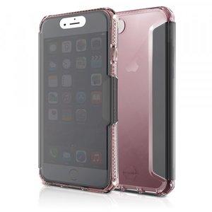 Itskins Spectra Vision Book Case Licht Roze voor iPhone 7 / 8