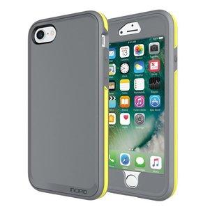 Incipio Performance Series Case [Max] voor Apple iPhone 7 / 8. Hoes Grijs, Geel