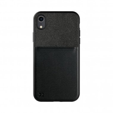 XQISIT Card Case for iPhone XR black