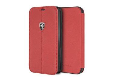 Ferrari Book case voor iPhone XR - Rood
