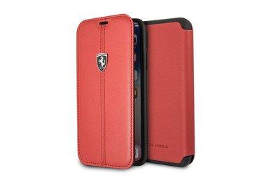 Ferrari Book case voor iPhone X-Xs - Rood
