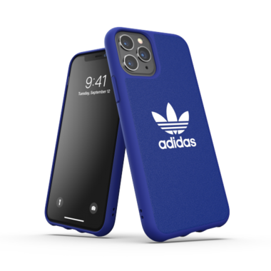 Adidas OR Moulded Case CANVAS (blauw) voor iPhone 11 Pro