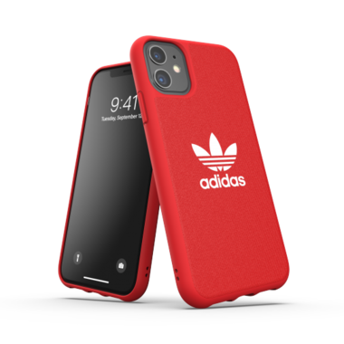 Adidas OR Moulded Case CANVAS (rood) voor iPhone 11
