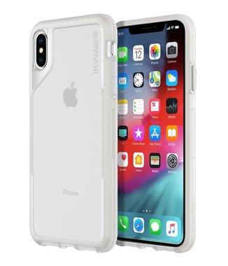 Griffin Survivor Endurance Case voor Apple iPhone Xs Max, transparant/grijs