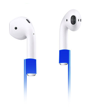 Xccess Anti Lost Strap for Apple Airpods blauw