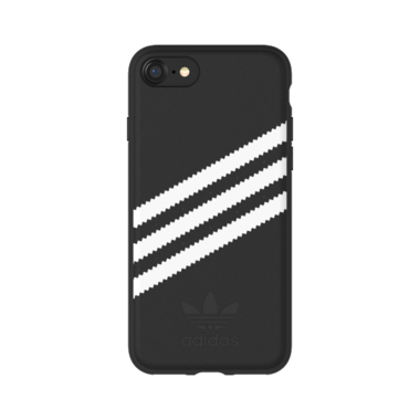 Adidas OR Moulded case Suede voor iPhone 6 / 6s / 7 /8 (zwart)