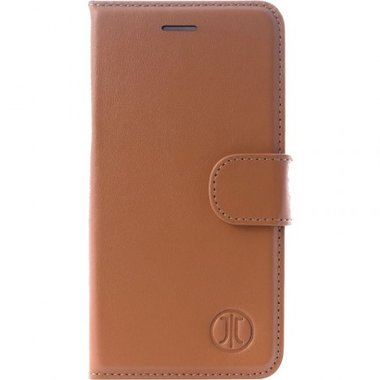 JT Berlin LeatherBook Style voor de iPhone 8 Plus/ 7 Plus (Cognac)