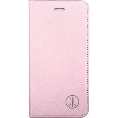 JT Berlin Lederbook Magic voor Apple iPhone 7 Plus en 8 Plus (roze)