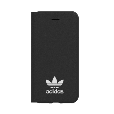 Adidas Originals TPU booklet case (zwart) voor iPhone 7 / 8 / 6/ 6s